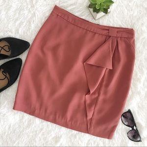 H&M rose pink mini skirt